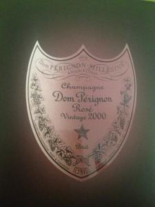 Dom Perignon Rosé.